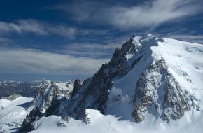 Mont Blanc. Foto Alain Wibert