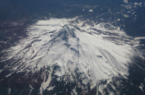 Mount Hood in Oregon. Foto Bruwbooks