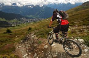 Tips voor mountainbiken. Foto Andy C
