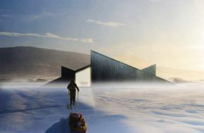 Mountain Hill Cabin in het Noorse Ål is een droom voor skiërs