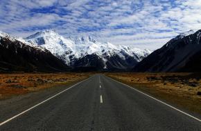 roadtrip in de bergen