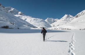 Hoe moet je sneeuwschoenwandelen?