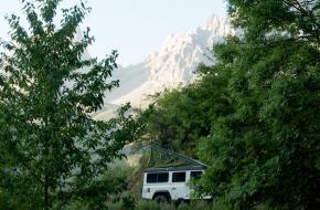 avontuurlijk kamperen