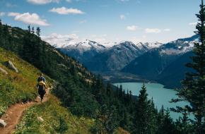 Naar de wc gaan in de bergen