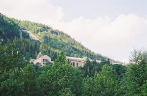 Het industriedorp Rjukan in Noorwegen. Nigel Swales Nigel's Europe
