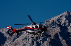 © Oberau-Online Oostenrijkse Politiehelikopter
