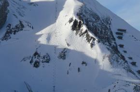 De steilste piste van Obertauern