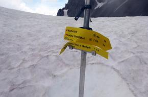 Schade aan bergwandelroutes door extreem weer