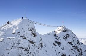 Peak Walk. Foto Glacier3000