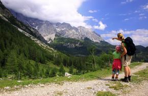 Wandelen in de Alpen