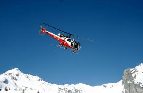 Reddingshelikopter. Foto pbuergler