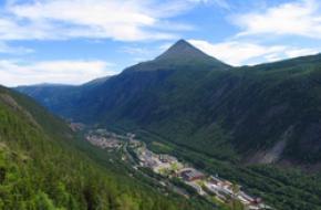 Rjukan. foto: D. fleger,