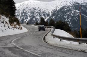 autorijden in de bergen