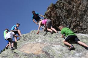 Bergwandelen en bergbeklimmen met het hele gezin