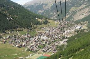 Saas-Fee. Foto Martin from Tyrol
