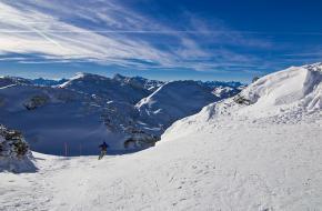 Skiën in Salzburg. Foto stefou!