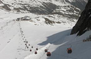Gondel Stubaier Gletsjer