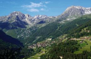 Wandelen in Val d'Anniviers - dal in Wallis. Foto Bert Vonk