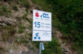 Alpe d'Huzes: Foto Le Rouleur Lent