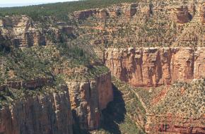 Grand Canyon Np zonder dikke laag mist