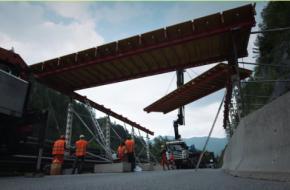 Langste Tibet Style brug geopend in Tirol