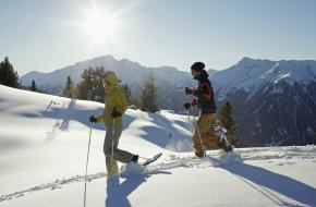 Sneeuwschoenwandelen in Tirol