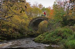 Wandelen in Schotland. door Bert Vonk