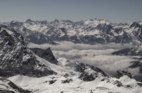 Sneeuw in de Alpen. Foto: Eduard Pulks (Flickr)