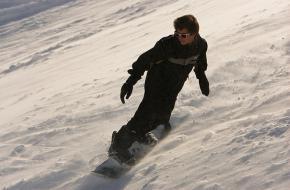 snowboarder. Foto serrechevalier