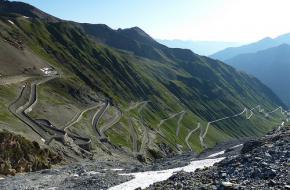 Stelviopas. De laatste bergetappe van de Giro D'Italia 2012. Foto Jussarian
