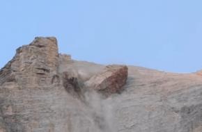 Croda Marcora avalanche