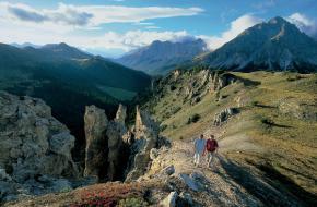 Wandelen in het Nationale Park - Graubünden. ©Zwitserland Toerisme