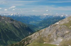 Zell am See tussen de bergen