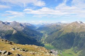 Uitzicht over het Nationalpark ©M M