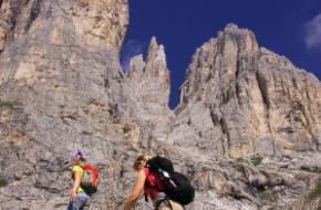 Bergwijzer- bergwandelen in de Rosengarten - Dolomieten