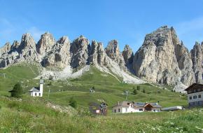 Wolkenstein in Val Gardena. Foto suedtirol.altoadige