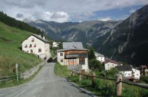 Val Sinestra. Foto Graubünden Zwitserland