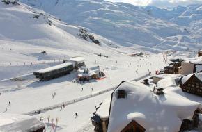Skigebied Val Thorens. Foto via Pixabay