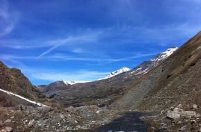 Villard d'Ardene in de Ecrins. Foto Girolame