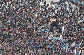 Skispringen op nieuwjaarsdag