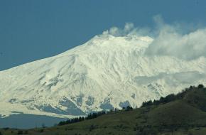 Vulkaan Etna in Italië foto snappybex