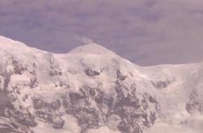 Uitbarsting hoogste berg van Australië
