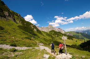 Wandelen bij de Lünersee in Vorarlberg ©hirnschmalz_at