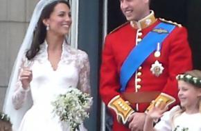 William en Kate op het balkon van Buckingham Palace