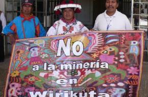 Protesten tegen de mijnbouw. foto servindi.org