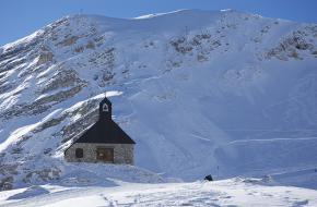 Zugspitze Kapel. Foto Iain Farrell