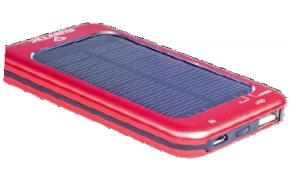 Zonne-energie oplader van Rubytec