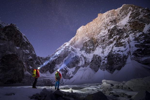 David Lama en Conrad Anker op expeditie in de Himalaya (Mammut)