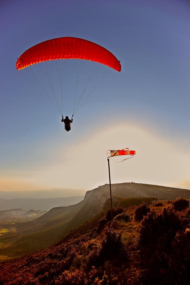 Paragliden in Coll Dager